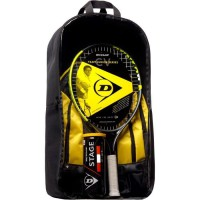 DUNLOP - Kit de tennis Junior CV Team 21 - Raquette/Sac a dos/ Balles