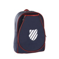K-SWISS Sac de tennis Backpack JR Ibiza - Bleu et rouge