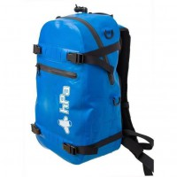 INFLADRY 25 - Sac a Dos 25 litres Bleu - 100% Étanche, dimensions 50x28x18cm