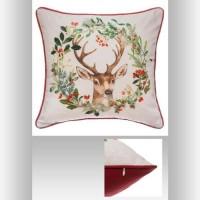 FEERIC LIGHTS & CHRISTMAS Coussin Traditionnel - 40 cm - Imprimé Renne