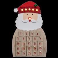 FEERIC LIGHTS & CHRISTMAS Décoration a poser intérieur Calendrier de l'Avent - Lumineux