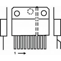 Amplificateur de puissance de 100 W / 4E 100 V + muette