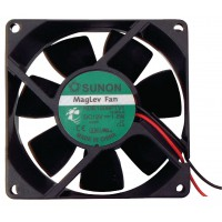 DC ventilateur 80x80x25 mm