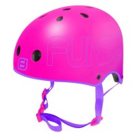 FUNBEE Casque Rose bol taille S - Rose - Mousse Polyuréthane - Sangles Polyester