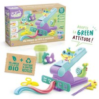 SUPER GREEN Kit extruder machine a presser de pâte a modeler bio
