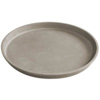 JANY FRANCE Plateau rond Actual - 48,5 x 3 cm - Taupe