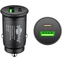 Chargeur rapide pour voiture USB-C™ PD (Power Delivery)