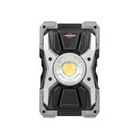 Projecteur portable LED / Projecteur de chantier LED RUFUS 1500 MA rechargeable, 1500 lumens, IP65, 15W, avec fonction Powerbank