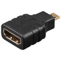 Adaptateur HDMI™, Doré 1 dans le sac en plastique