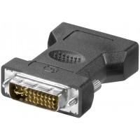 Adaptateur DVI/VGA analogique, Doré Connecteur DVI-I Dual-Link (24+5 broches)