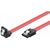 Clip de Câble HDD S-ATA 1.5 GBits / 3 GBits 90° 0.5 m
