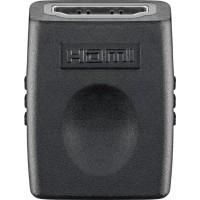 Adaptateur HDMI™, nickelé noir