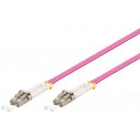 Câble à fibres optiques, Multimode (OM4) Violett 10 m