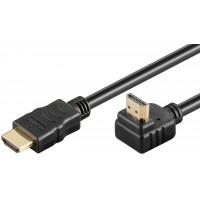 Câble HDMI™ haute vitesse 90° avec Ethernet 0.5 m