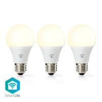 Ampoule SmartLife | Wi-Fi | E27 | 800 lm | 9 W | Blanc Chaud | 2700 K | Classe énergétique: A+ | Android™ & iOS | Diamètre: 60 m