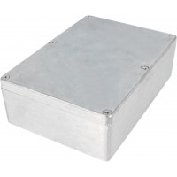 Boîtier métallique, Aluminium, 121 x 171 x 55 mm, Alliage d`aluminium / ADC12, IP 65