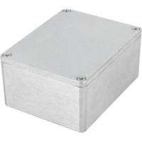 Boîtier métallique, Aluminium, 90 x 115 x 55 mm, Alliage d`aluminium / ADC12, IP 65