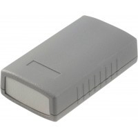 Boîtier plastique 50 x 90 x 24 mm gris foncé ABS IP 54