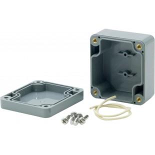 Boîtier plastique 58 x 64 x 35 mm gris foncé ABS IP 65