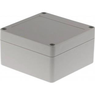 Boîtier plastique 100 x 100 x 55 mm gris clair PC IP 65