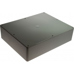 Boîtier plastique 200 x 250 x 65 mm gris ABS, grande résistance aux chocs IP 54