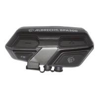 Albrecht Bluetooth BPA 500 - Communication Moto pour écouter de la Musique, téléphoner et GPS - Radio FM - avec Haut-parleurs de