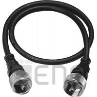 75820Câble coaxial avec connecteurs Albrecht