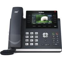 Yealink SIP-T46S Téléphone IP Noir & W60 Téléphone IP Forfait Noir