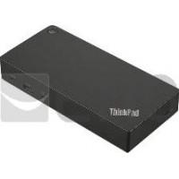 Lenovo 40AS0090EU Station d`accueil avec Fil USB 3.2 Gen 1 (3.1 Gen 1) Type-C Noir