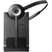 Jabra Pro 930 MS Casque Mono DECT sans Fil - Certifié Skype for Business, Antibruit et Autonomie d`une Journée - Utilisation ave