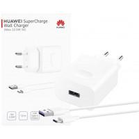 Huawei Super Charger HW-100225E00 Max.22,50 W Se CP404 Blanc 55033322 avec Cble de Type C