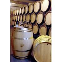 Tonneau de présentation NEUF à vin Non étanche à 8 cerclages galvanisés dis de Bourgogne, Capacité 228 Litres et 50kg au total F