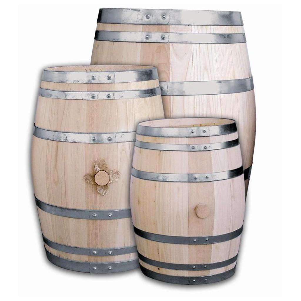 46973 Tonneau Vin Rhum Ou Spiritueux Tanche En Chataignier  # Meuble Tv Avec Barrique Bois