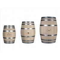 Tonnelet à vin EN CHENE VERTABLE, Fût pour BAG INBOX (CUBI de vin) Capacité 10 Litres (accepte CUBI de 5 litres) FABRICATION FRA