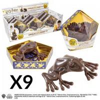 Display de la réplique Chocogrenouille - 9 pièces - Harry Potter
