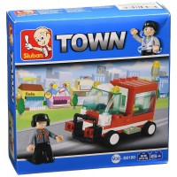 Jeu de construction Sluban Elements Town Series Véhicule de service