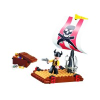 Jeu de construction Sluban Elements Pirate Series Pirate Raft