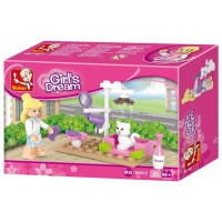 Jeu de construction Sluban Elements Girls Dream Series Pet Salon