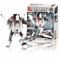 Jeu de construction Sluban Elements Space Series L'espace 3-en-1 C