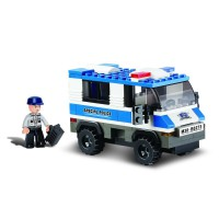 Jeu de construction SLUBAN Elements Police Series Prisoner Transporter