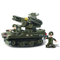 Jeu de construction SLUBAN Elements Army Series Lance-roquettes