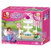 Jeu de construction SLUBAN Elements Girls Dream Series Fontaine