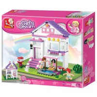 Jeu de construction SLUBAN Elements Girls Dream Series Maison de vacances