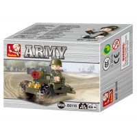 Jeu de construction SLUBAN Elements Army Series Soldat