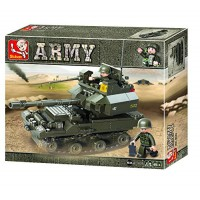 Jeu de construction SLUBAN Elements Army Series Réservoir