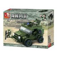 Jeu de construction SLUBAN Elements Army Series Suv
