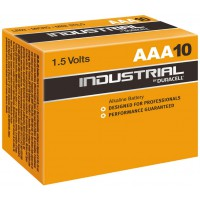 10 PILES LR03/AAA (Micro) (MN2400) INDUSTRIAL DURACELL
