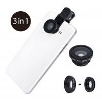 Ensemble de 3 lentilles photo pour smartphones et tablettes