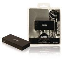 Lecteur de cartes Multicartes USB 2.0 Noir
