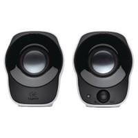 Haut-parleurs 2.0 Filaire 3.5 mm 1.2 W Noir/Blanc